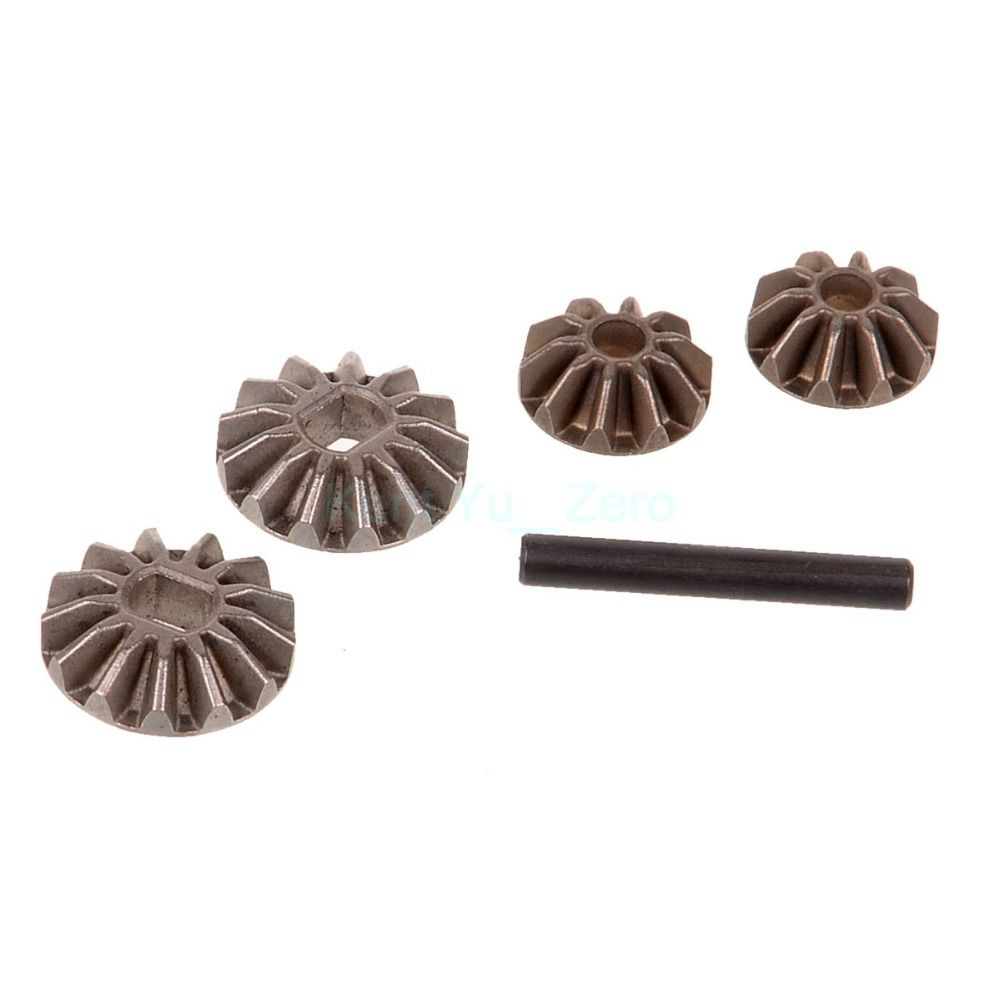$5.90 (Buy here: http://appdeal.ru/6orh ) Diff. Pinions+Bevel Gears+Pin,Spare Parts For HSP 1/10 RC Model Car,02066 ,For a variety of HSP models for just $5.90