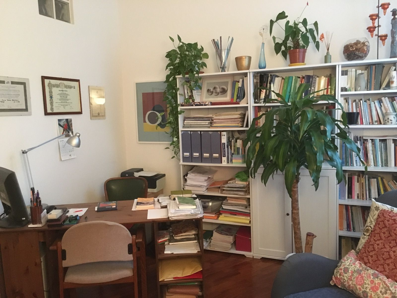 Arredamento Studio ~ Dr.ssa irina boscagli: le foto dei miei studi arredamento studio
