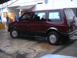 1988 Dodge Caravan In Black Cherry Cherry Baby Chrysler Voyager