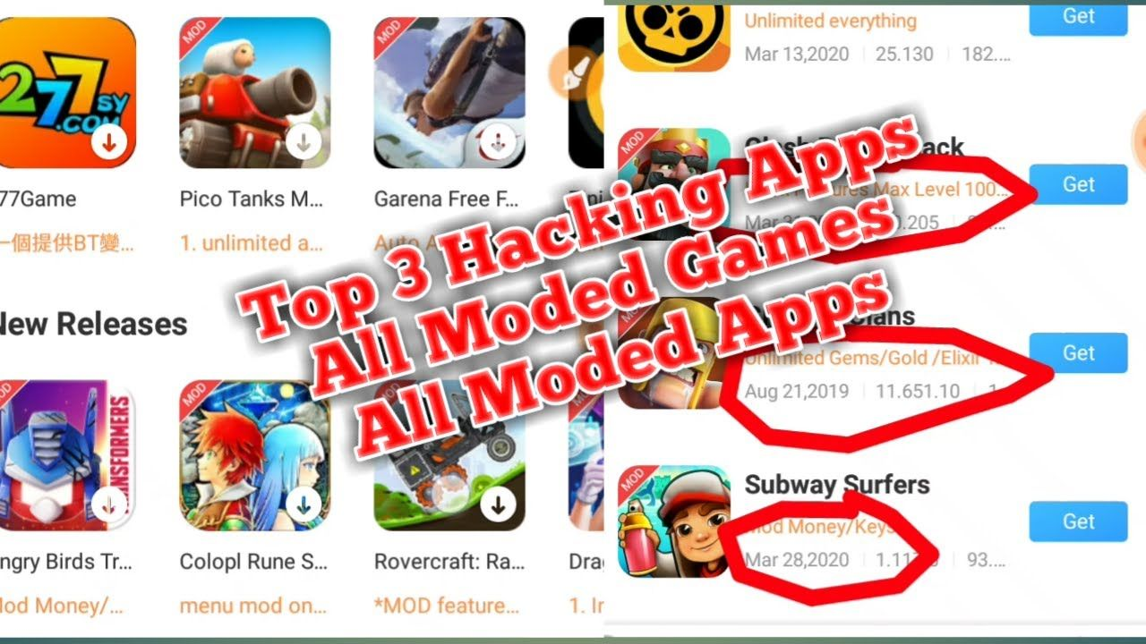 How To Hack All Games Top 3 Mod App Hack Any Android Game Without R In 2020 App Hack Mod App Gaming Tips