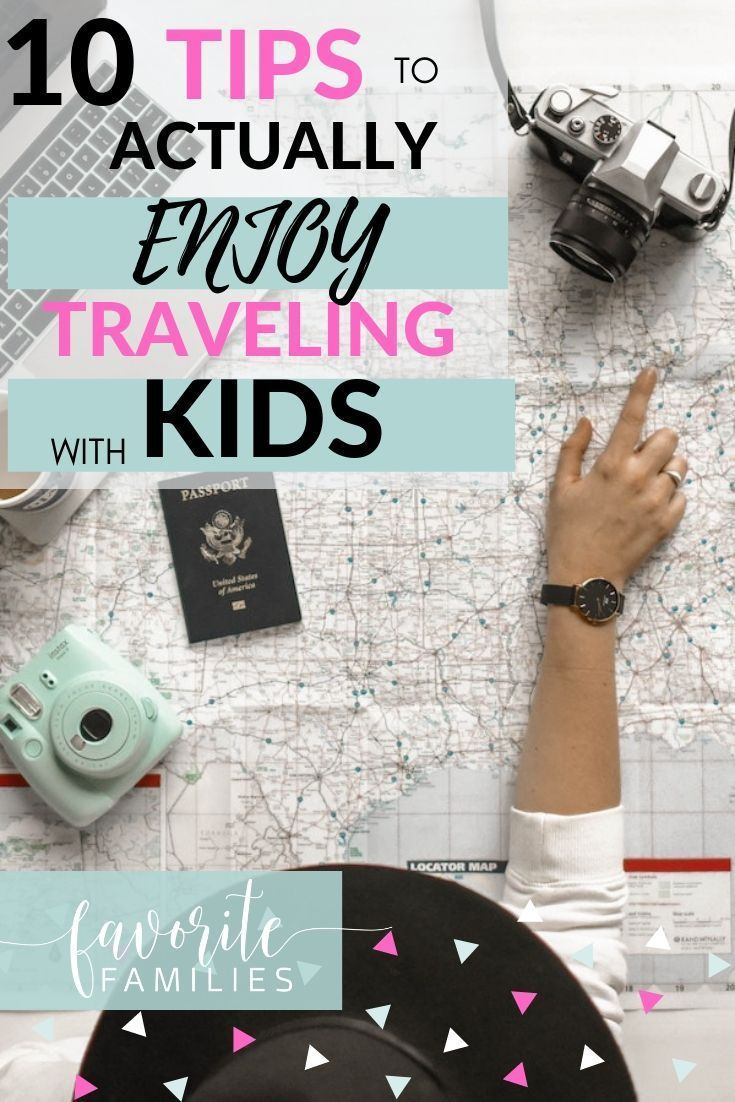 Traveling with kids can be hard, but these 10 simple tips will help take the stress out of family vacations! Whether you're traveling in a car, on a plane, with toddlers, babies or older kids, these ideas will help you relax, create memories, and go with the flow for a great trip. #familyvacation #travelingwithkids #roadtrip #familytraveltips