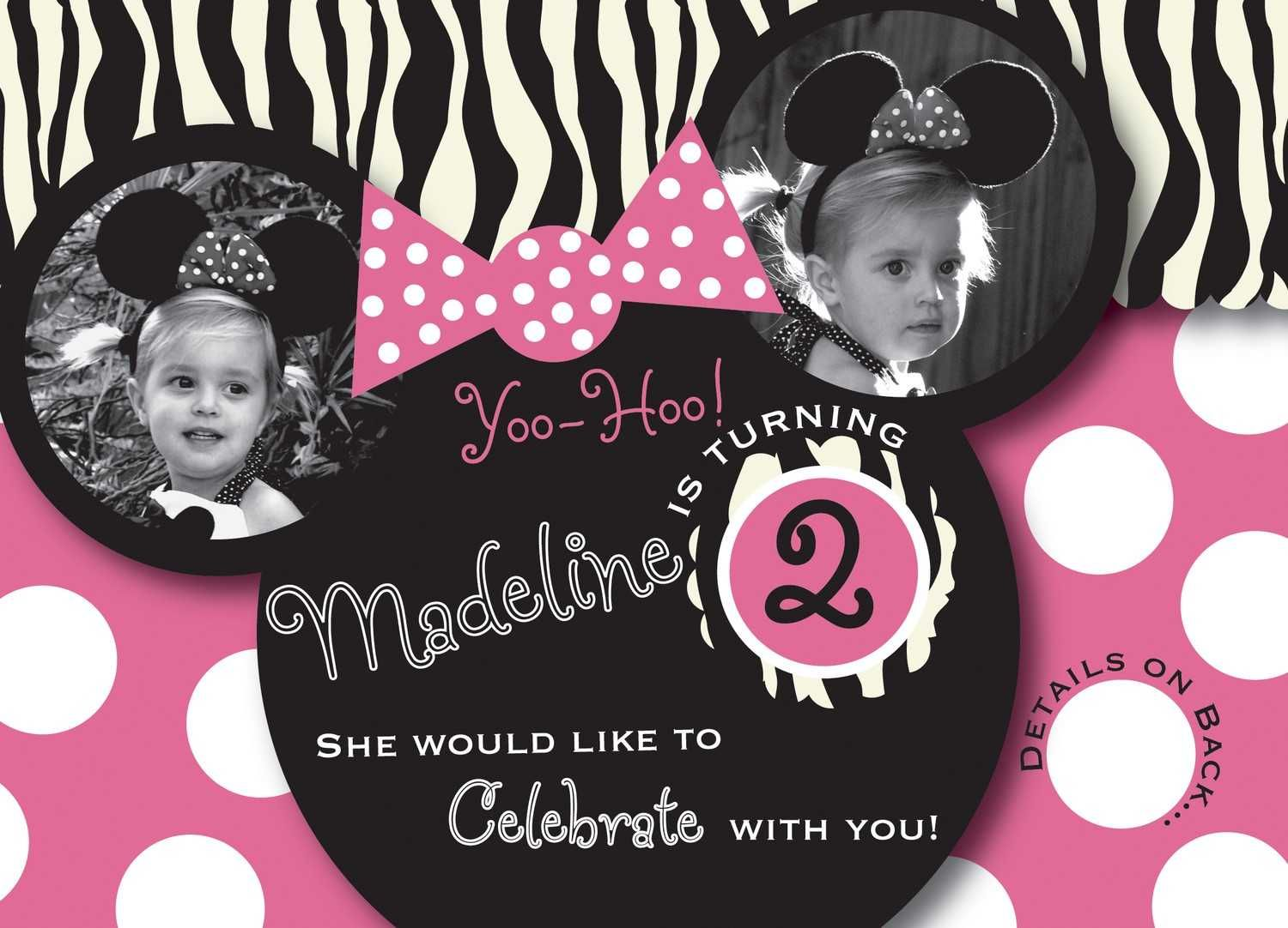 Minnie Mouse Invitations Party City   Birfday!   Pinterest ...
