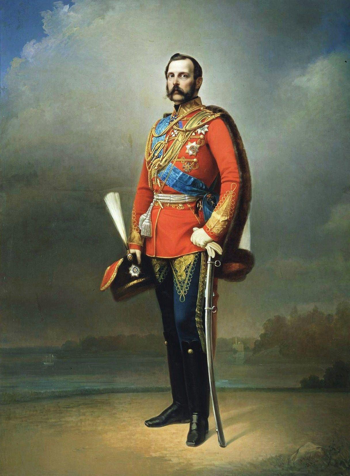 Slikovni rezultat za alexander II of russia