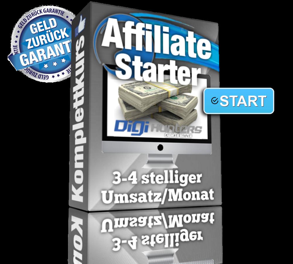 DigiHunters – Alex Many – Affiliate Starter Komplettkurs
