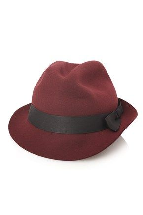 921e38f0d1d French Connection  Raw Edged Trilby