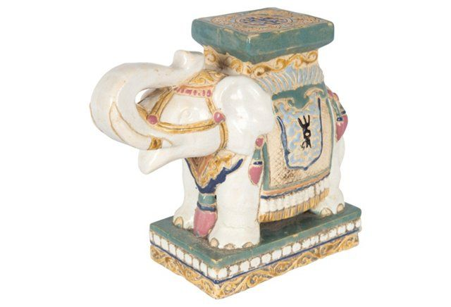 Elephant Garden Stool Figurine Accessories Pinterest 400 x 300