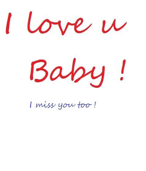 L Love U Bart U A Bby: Love U Ma ... I Miss U ...