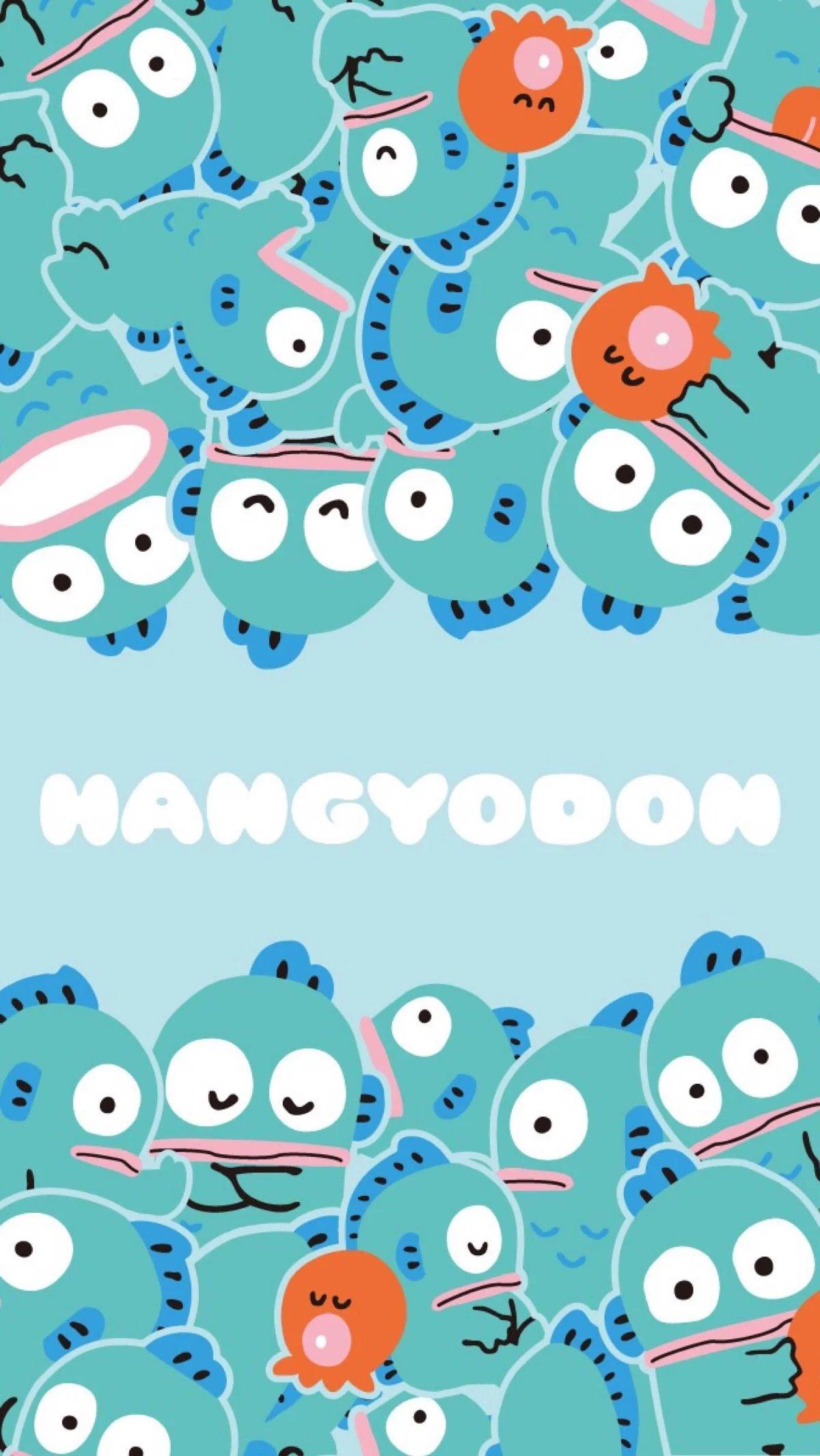 Hangyodon サンリオ 壁紙 かわいい かわいいイラスト