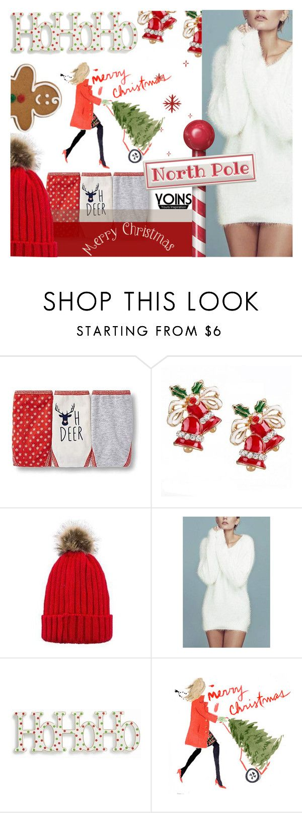 """""""#HoHoHoYoins"""" by juromi ❤ liked on Polyvore featuring K&K Interiors, yoins, yoinscollection and loveyoins"""