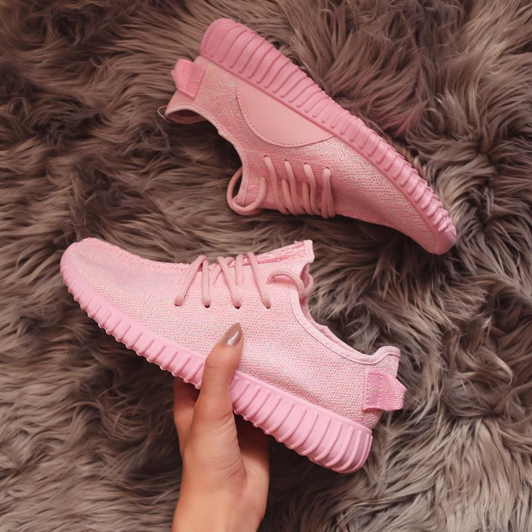 reputable site e1c51 4279e Adidas Yeezy Pink, Pink Yeezy, Addidas Yeezy, Gold Adidas, Pink Sneakers,