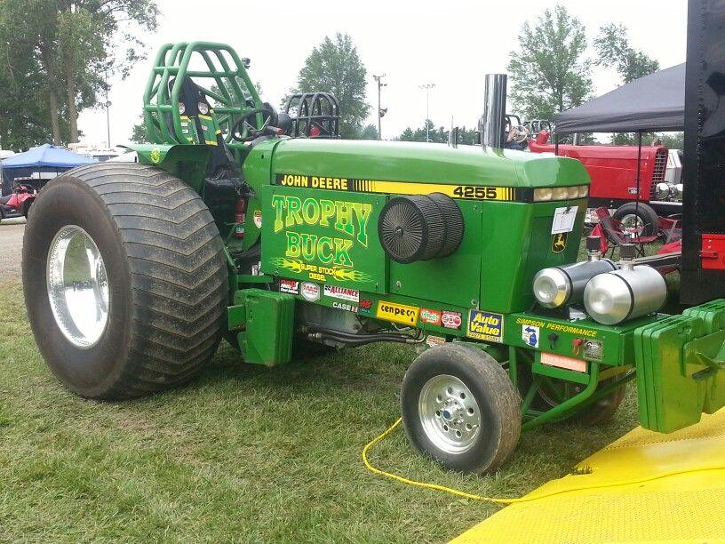 John Deere Super Stock Pulling Tractors : Trophy buck super stock diesel john deere
