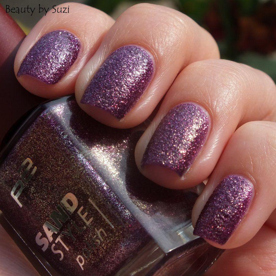 p2 Sand Style Polish, 030 Seductive #p2 #nails
