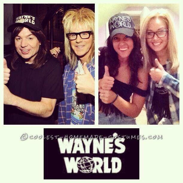 Wayne Waynes World Costume