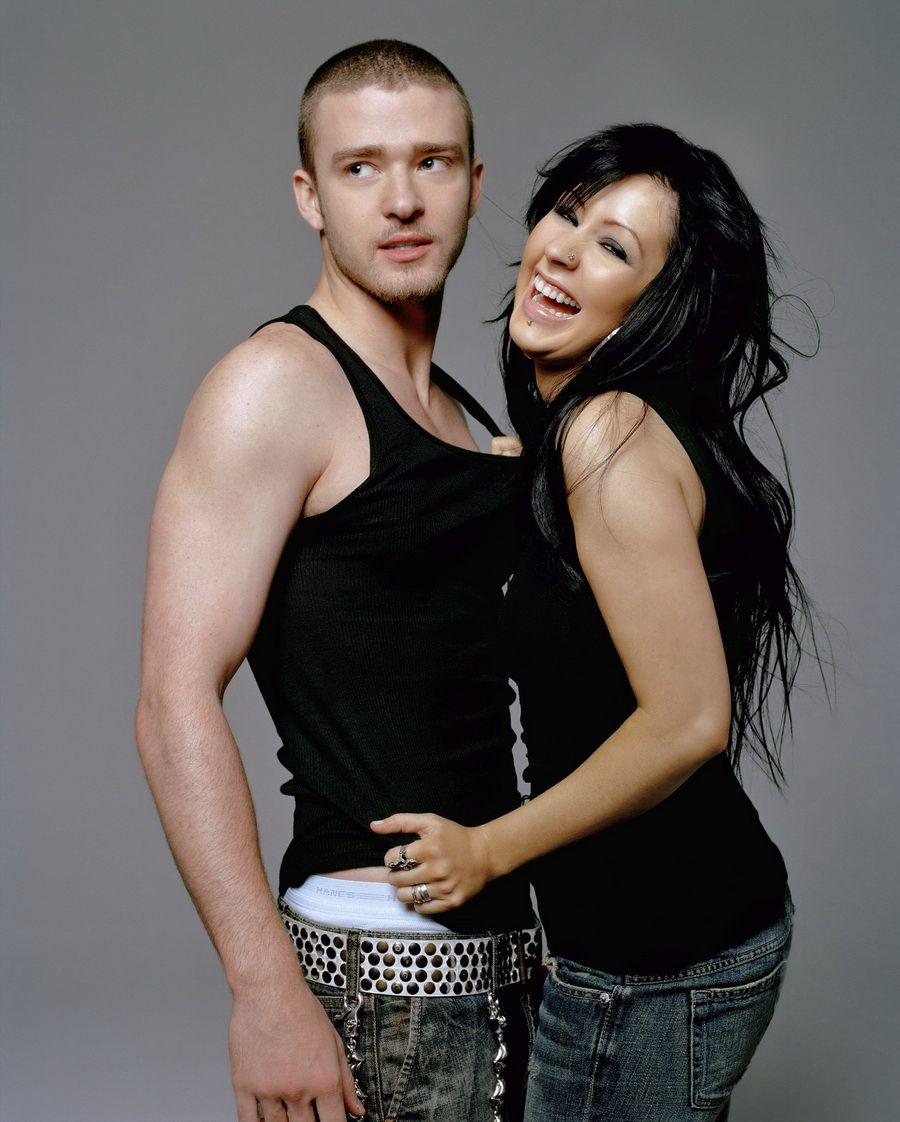 Justin Timberlake & Christina Aguilera. | Christina aguilera stripped, Christina  aguilera, Christina maría aguilera