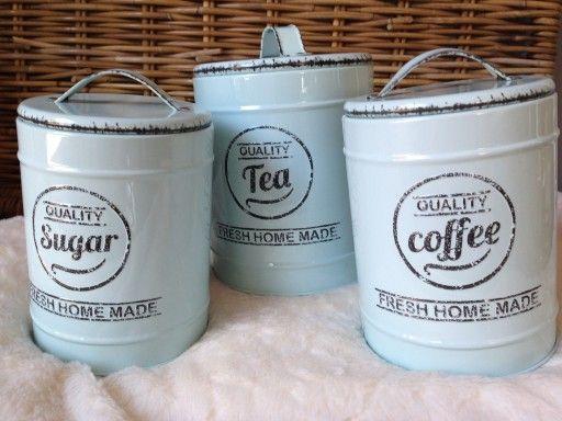 Puszki Pojemniki Kawa Herbata Cukier Kolor Mietowy 6979297880 Oficjalne Archiwum Allegro Tea Talenti Ice Cream Ice Cream