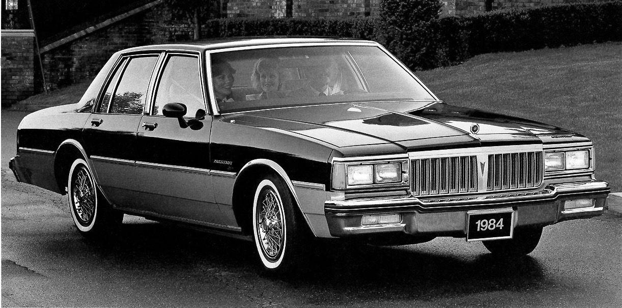 1984 Pontiac Parisienne Chevrolet Caprice Pontiac Parisienne Pontiac Bonneville