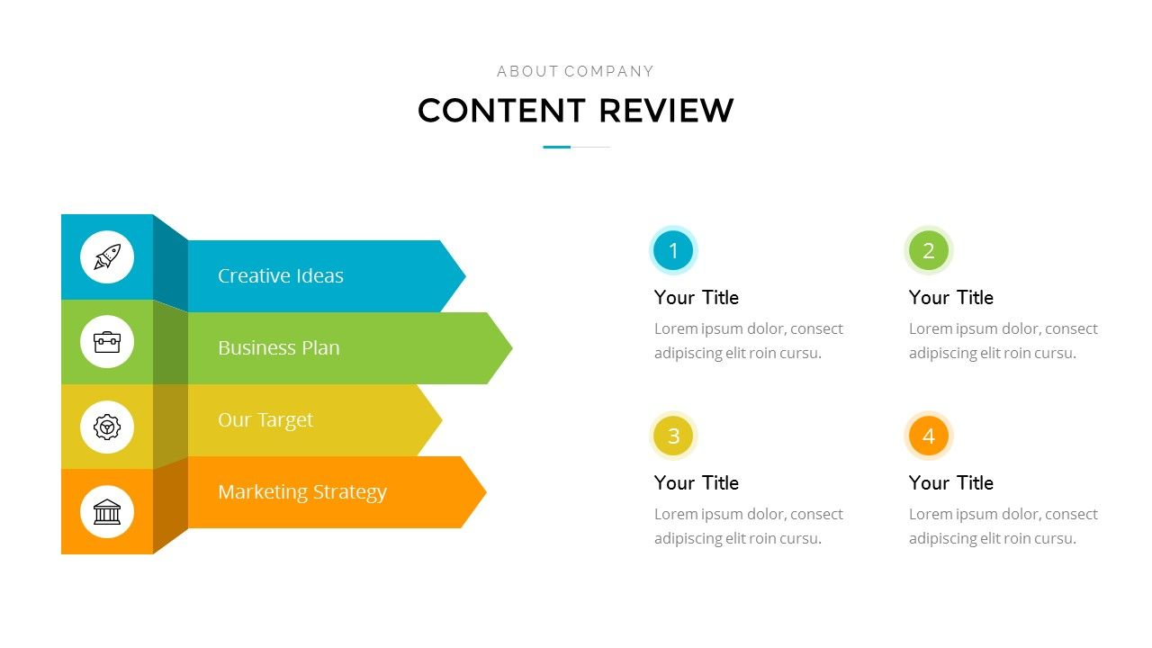 Flat Space Creative Business Powerpoint Template Creative