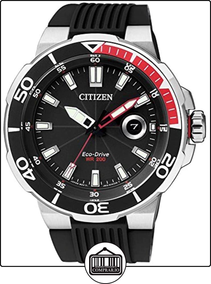 Citizen AW1420-04E Eco-Drive - Reloj de pulsera para hombre, funcionamiento con energía solar, sumergible de  ✿ Relojes para hombre - (Gama media/alta) ✿