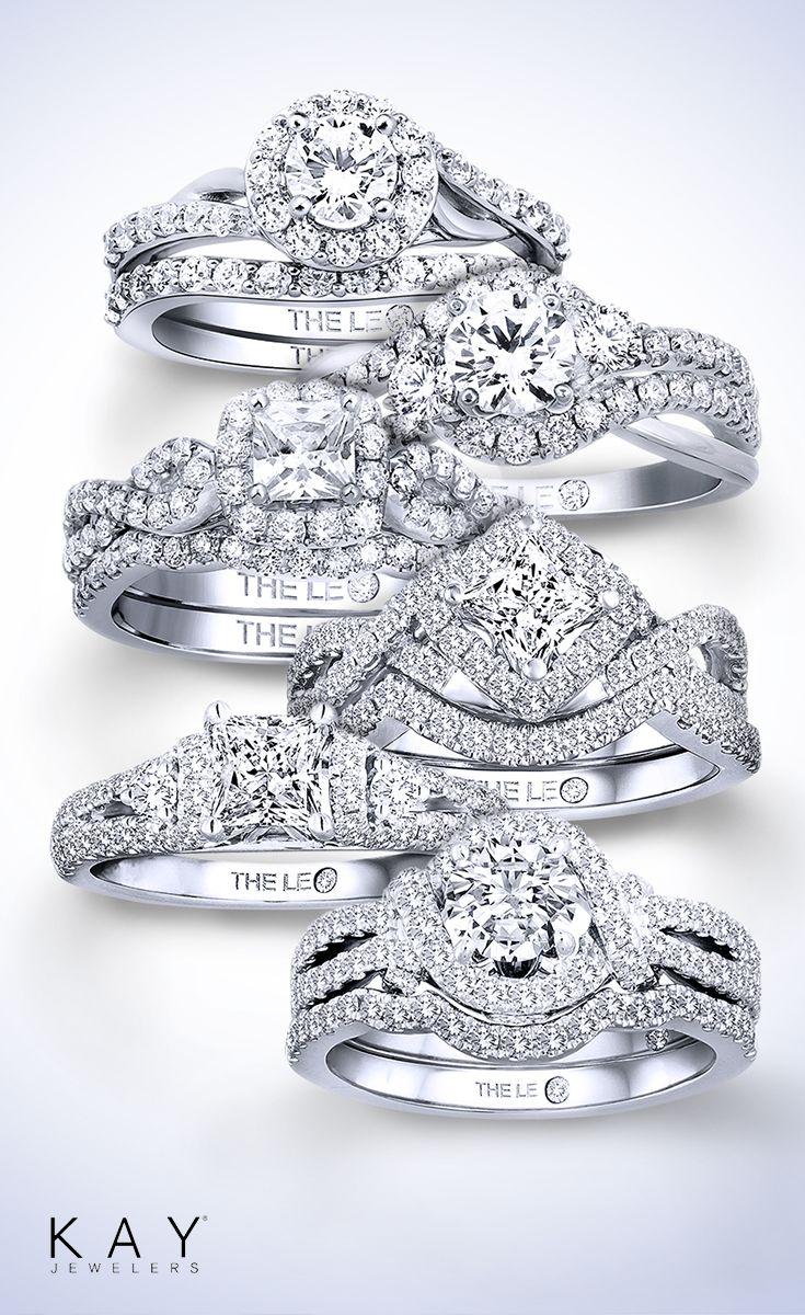 The Leo Diamond Leo Diamond Gold Rings Earrings Kay Jewelers Dream Wedding Ring Jewelry Rings Engagement Leo Diamond