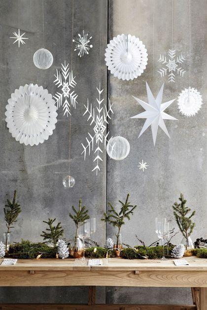 Une décoration de Noël à faire soi-même  photos pour trouver des