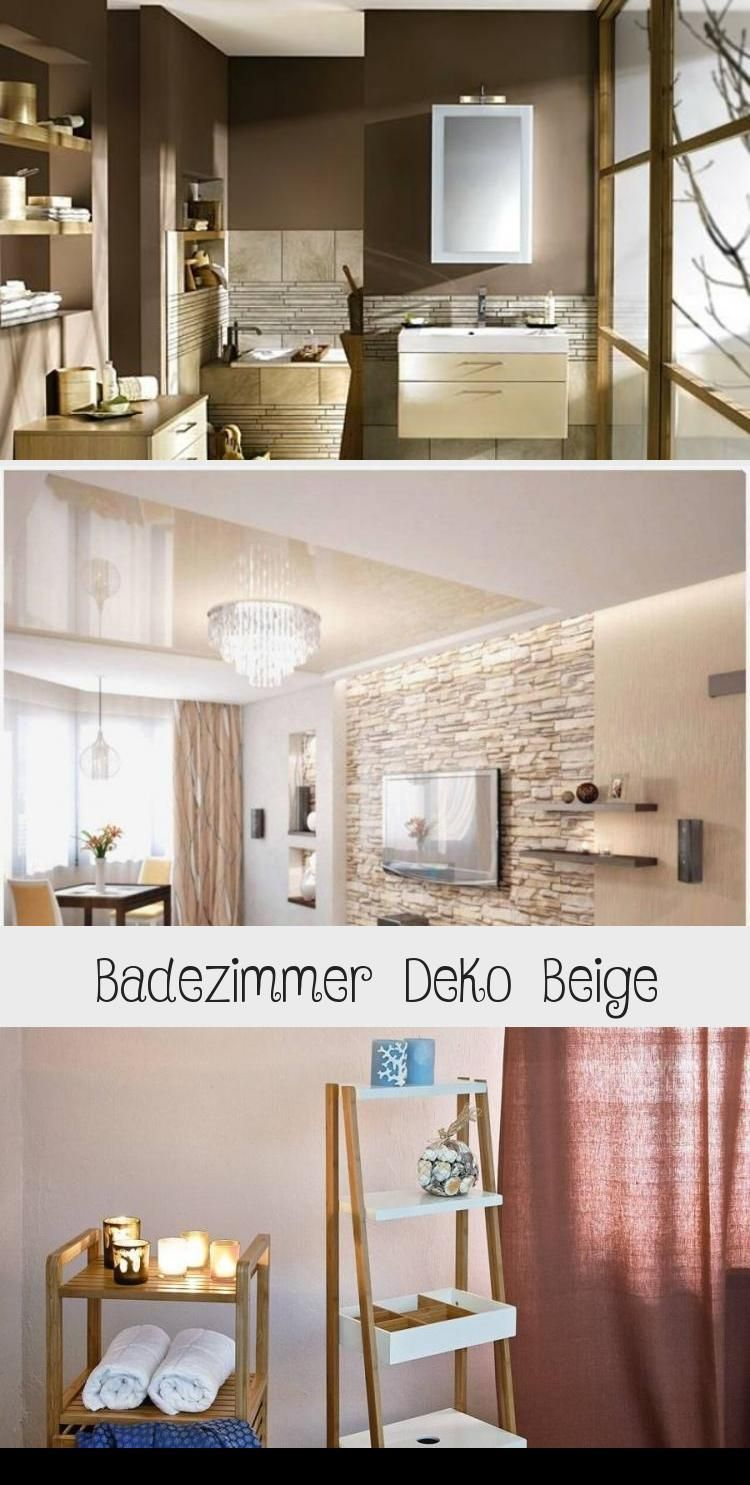 Schonheit Schone Dekoration Bad Grau Beige Badezim In 2020