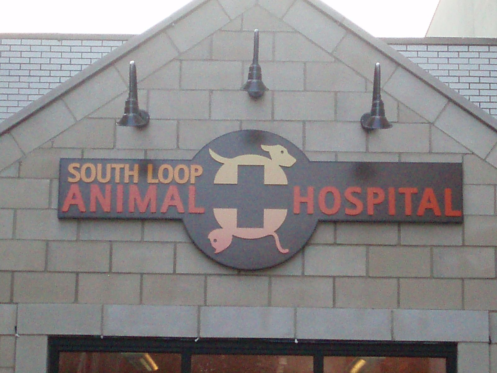 South Loop Animal Hospital, Chicago IL Signs South