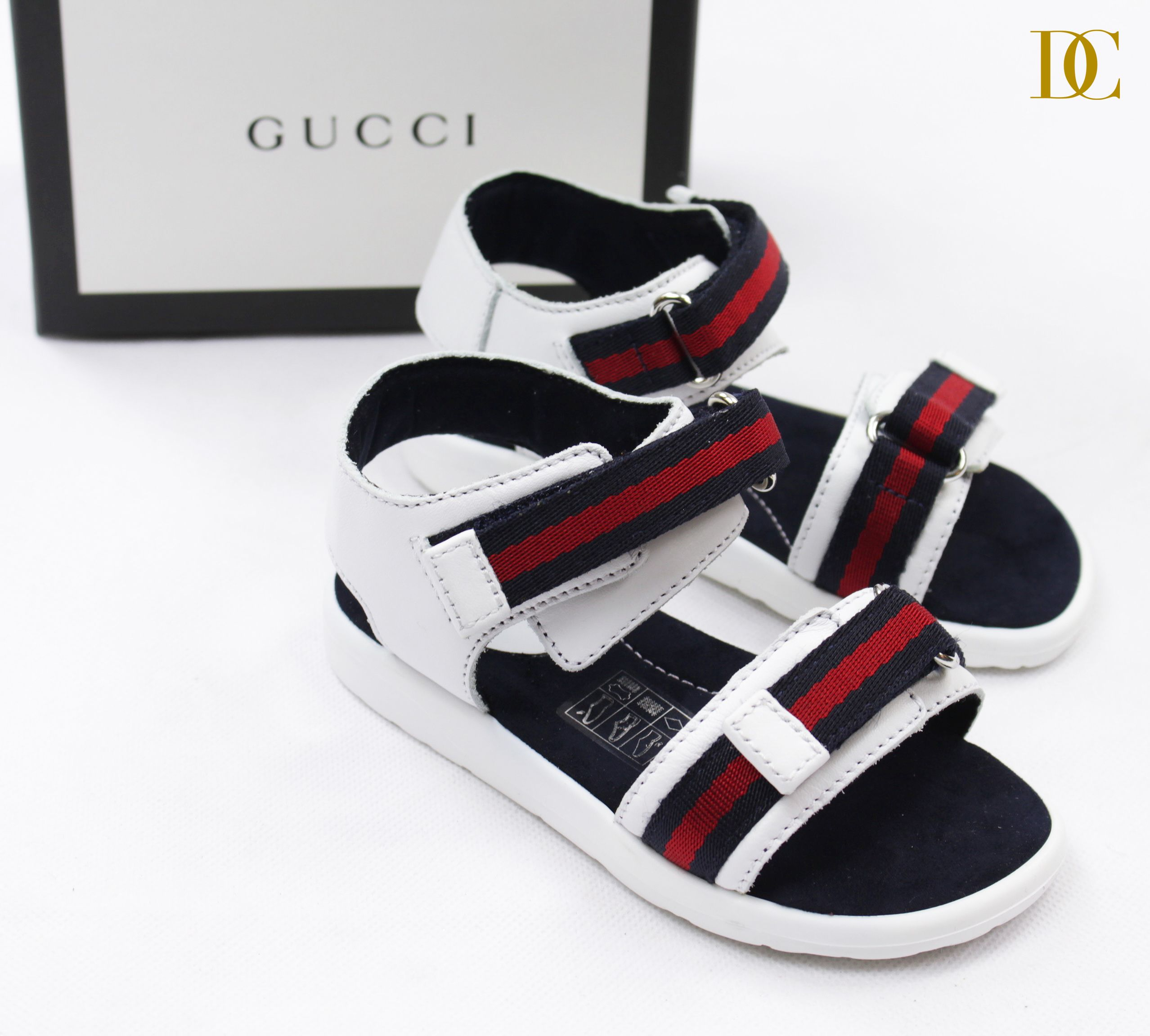 63c45f90570 Gucci boys white sandals.  gucci  sandals  boys
