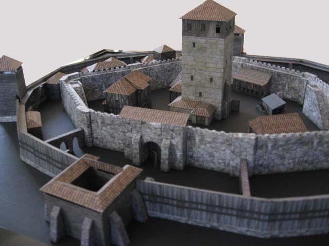 Medieval Castle Diorama | Medieval Castle - PaperModelers