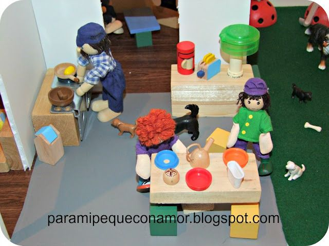 Para mi peque con amor: Casa de muñecos con mucha imaginación