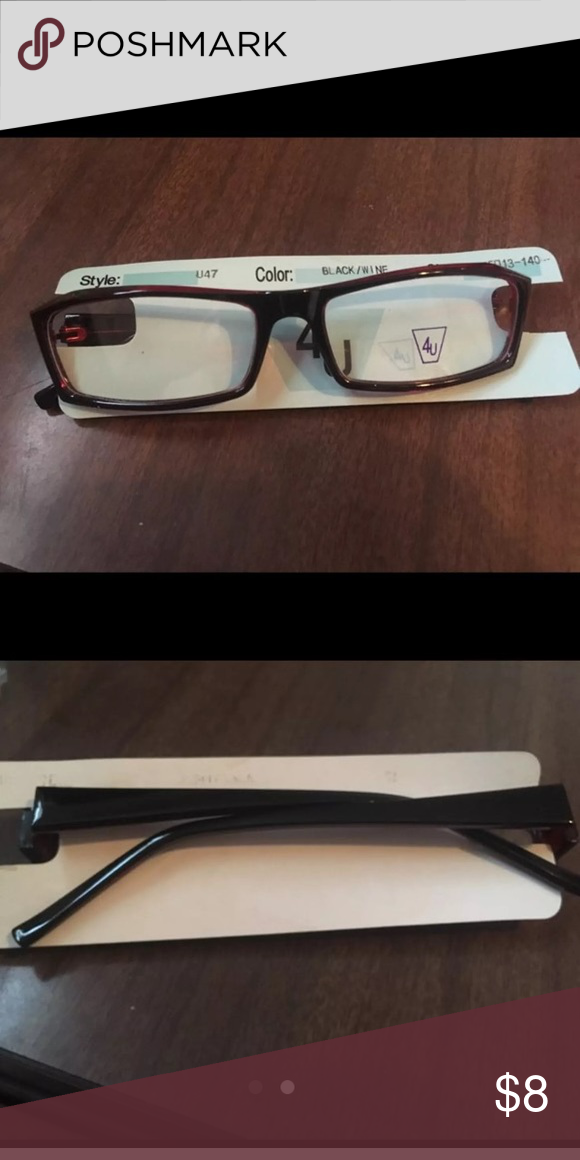 b34621cfb25 Prescription can be added. The 4u sticker does need to be scrapped off.  Please feel free to contact me with any addition questions. Accessories  Glasses. Non ...