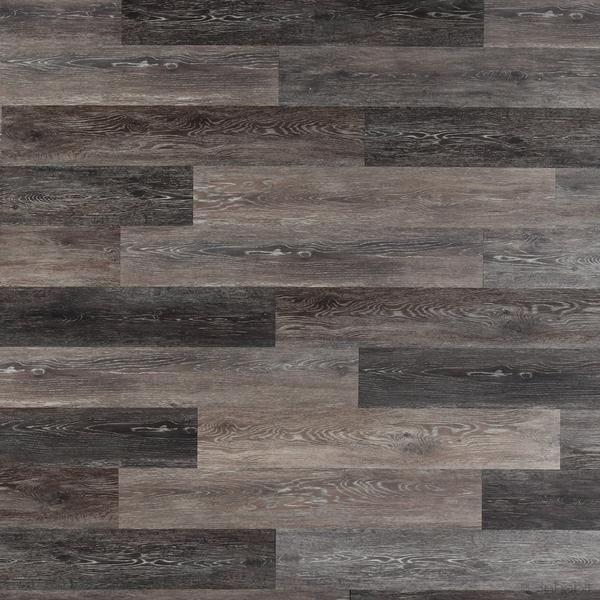 Gray Washed Oak Peel and Stick Wall Planks
