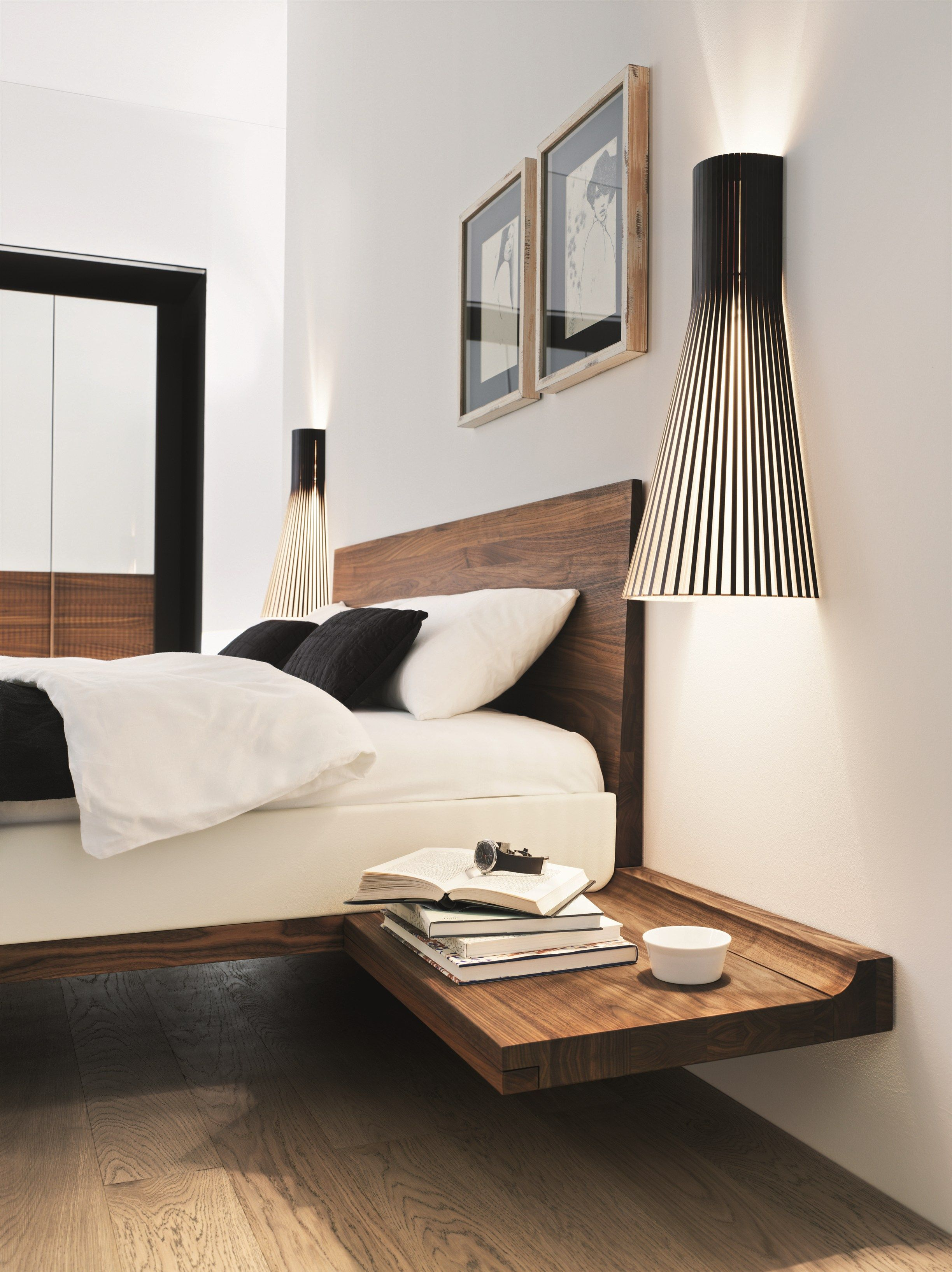SOLID WOOD DOUBLE BED RILETTO RILETTO COLLECTION