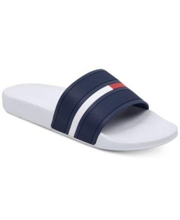 257cdcf08b279f Tommy Hilfiger Men s Ennis Slide Sandals - Grasy 9 in 2019 ...