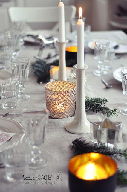 Weihnachtstisch und Dankeschön-Giveaway