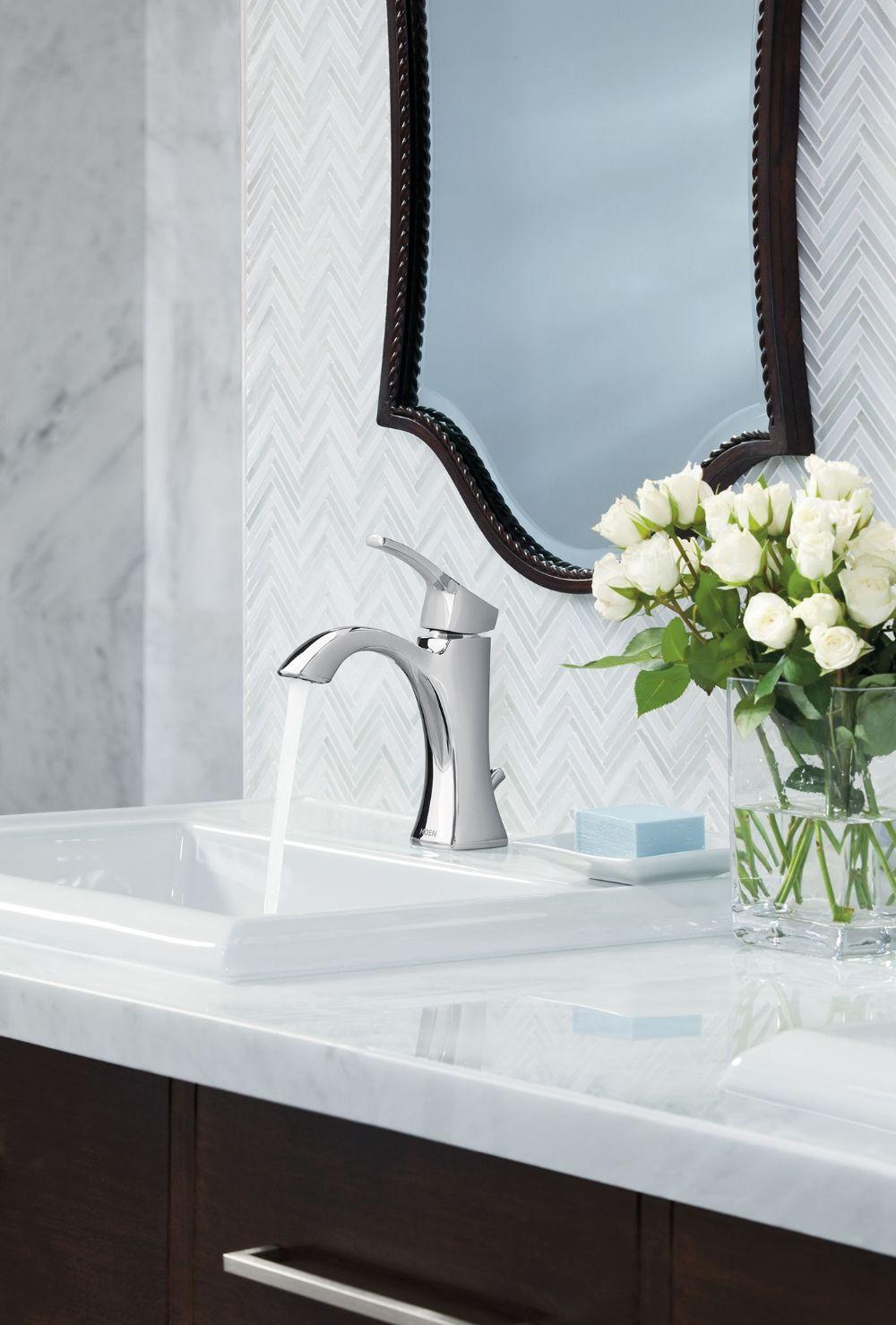 Voss Chrome One Handle High Arc Bathroom Faucet Best Bathroom