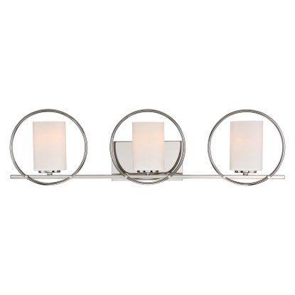Quoizel Parallel PRL8603PK Bathroom Vanity Light