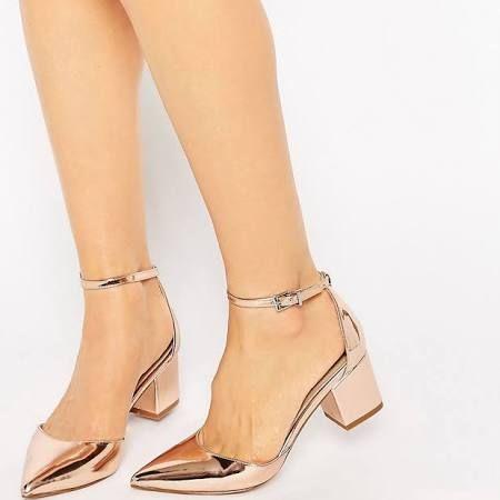 metallic nude shoes - Google Search