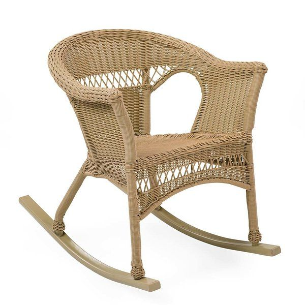 Easy Care Rocking Chair Wicker Rocking Chair Patio
