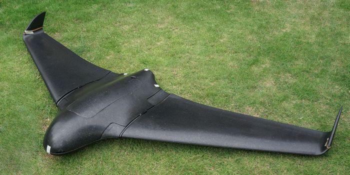 SkyWalker 2120mm X8 FPV RC Plane KIT (Black) No Electronics | Dear