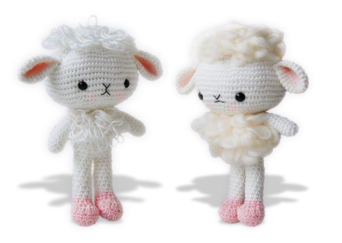 Amigurumi Patterns For Sale : Amigurumi lamb pattern is for sale on etsy amigurumi