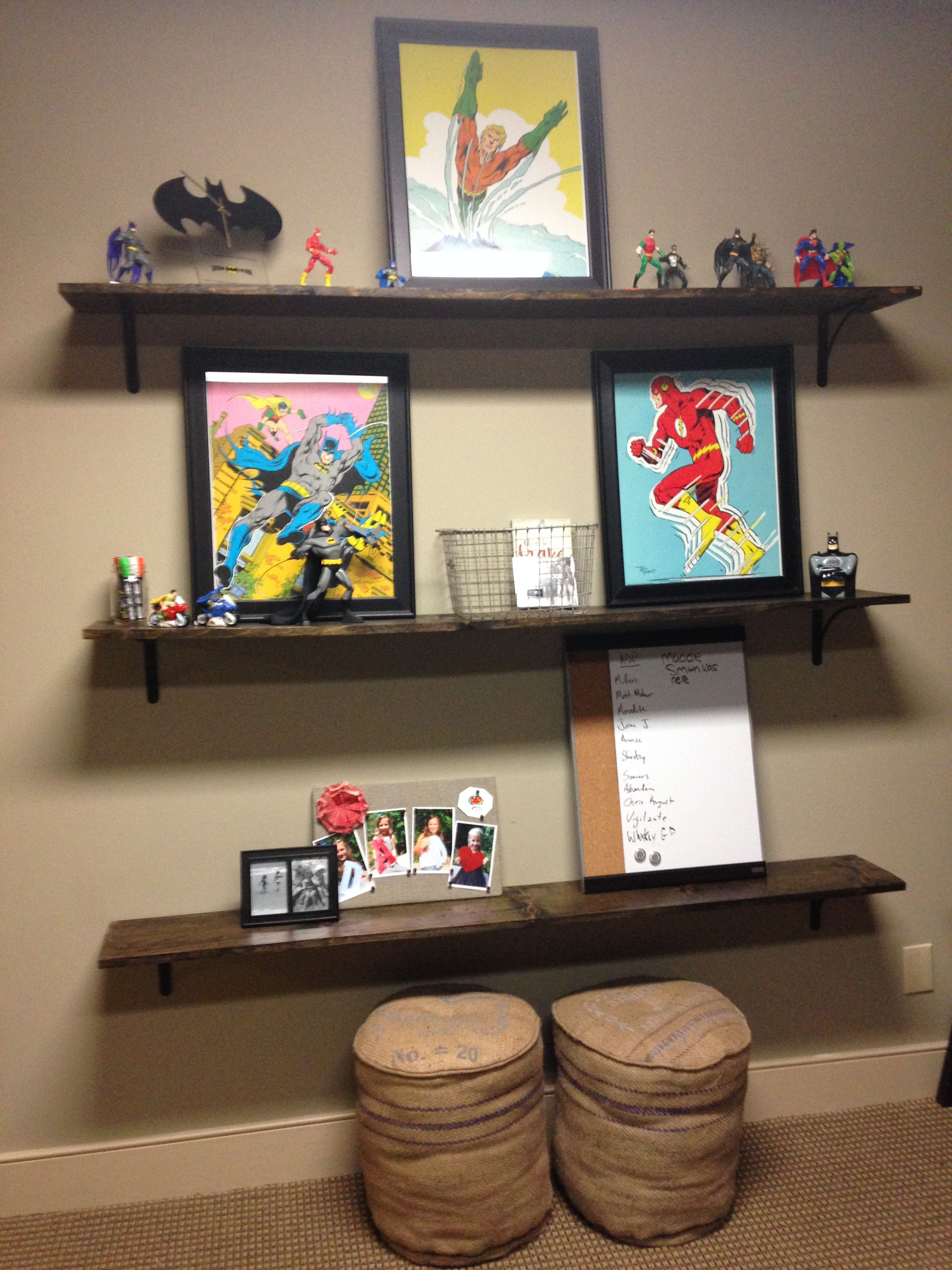 Floating Shelf For Boys Room With Seating Under Anna Berry Design Llc Boy S Room Shelves Room