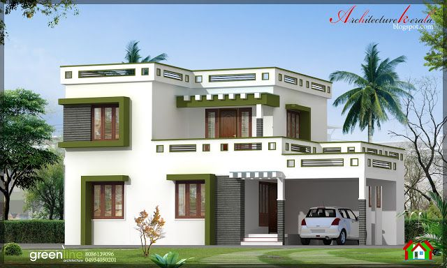 Architecture Kerala: 3 BHK NEW MODERN STYLE KERALA HOME DESIGN IN 1700 SQ FT