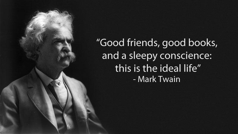 marktwainquoteonfriendship deep thoughts Pinterest