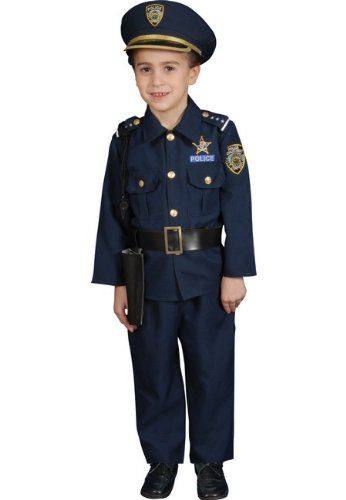 awesome Police Officer Deluxe Kids Costume  sc 1 st  Pinterest & awesome Police Officer Deluxe Kids Costume | Halloween Costumes ...