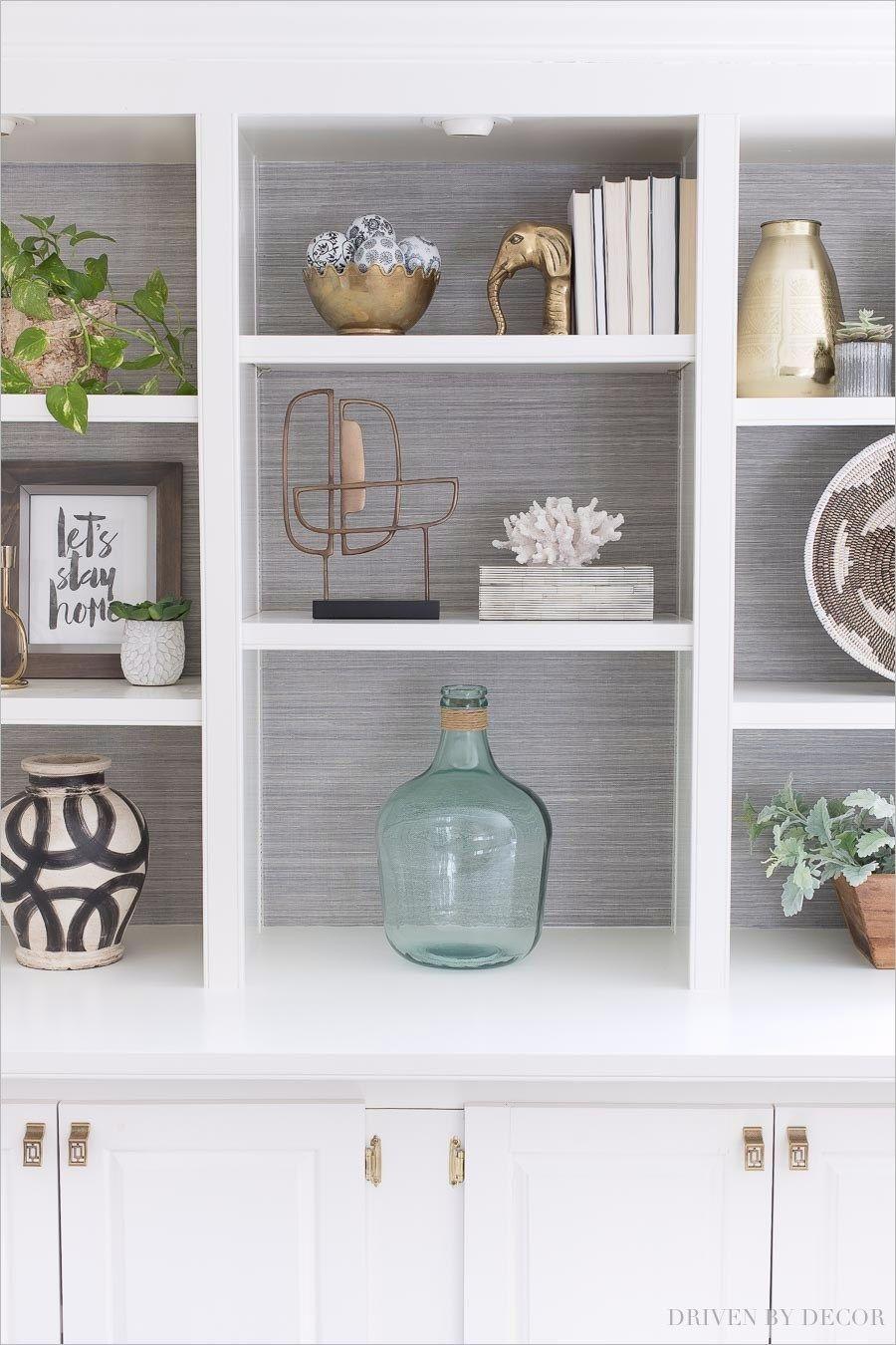 Decorating Built In Shelves Bookcase Decor Living Room Shelves