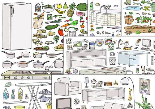 6 planches - (11 01 2016) Vocabulaire maison à télécharger au format - logiciel de plan maison