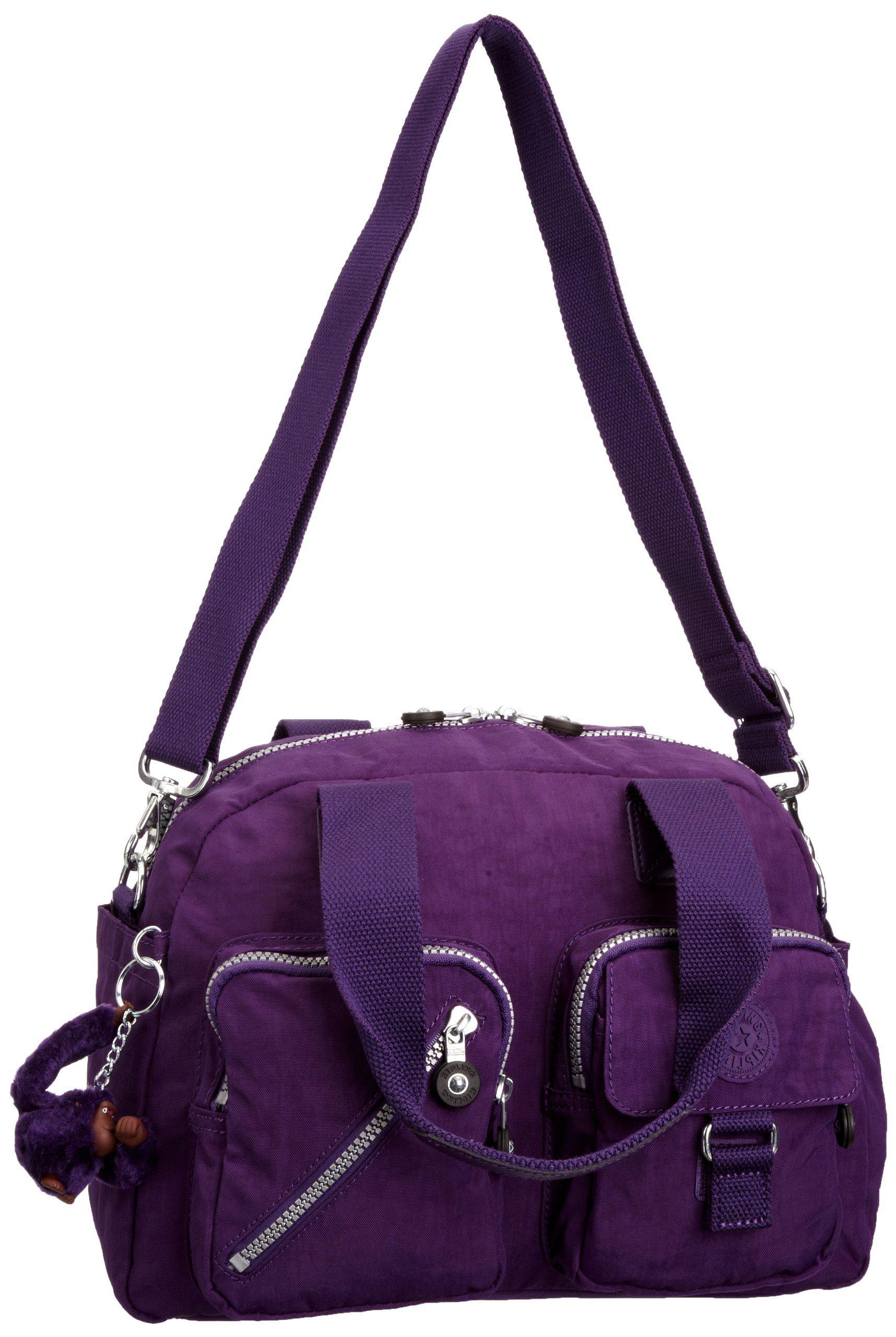 Kipling Women S Defea Shoulder Bag K13636c21 Brilliant Purple Co Uk Shoes Bags