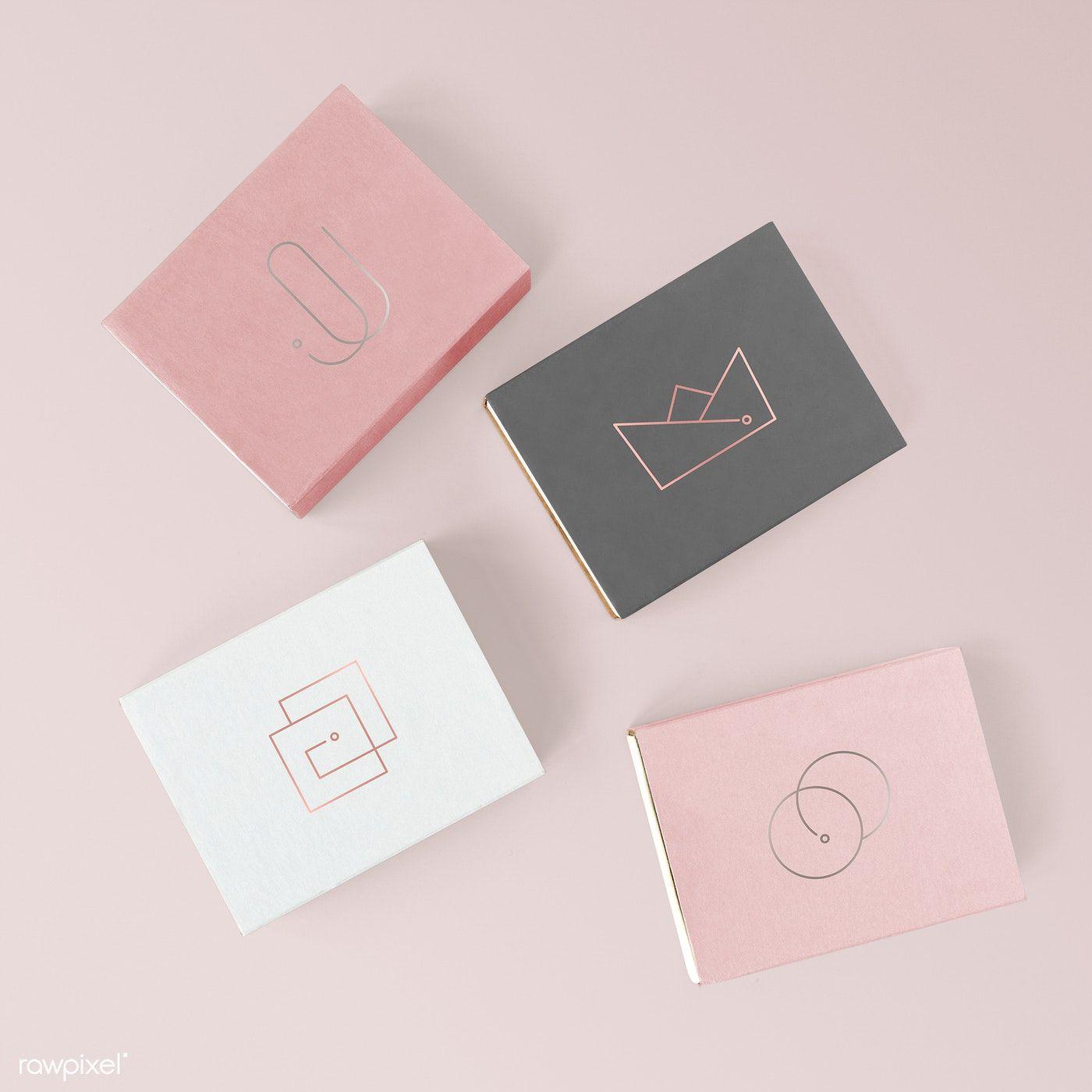 Download Download Premium Psd Of Feminine Cute Paper Box Mockup 1201989 Box Mockup Design Mockup Free Paper Box