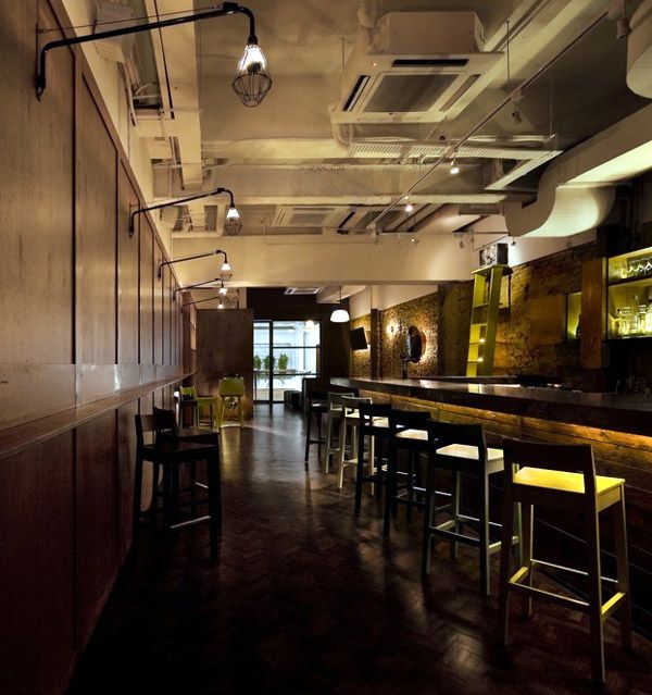 Beautiful Bar Interior Design Decorating