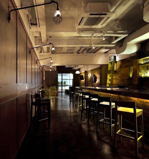 Bar Lighting Design Ideas: Bar Interior Design Decorating
